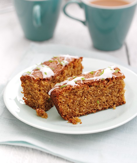 Ginger & Lime Slice Recipe