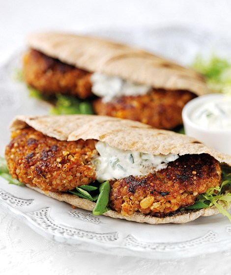Middle Eastern Lamb & Quinoa Patties Recipe