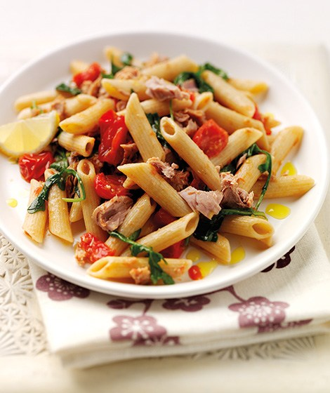 Wholewheat Pasta with Tuna, Lemon & Rocket Recipe
