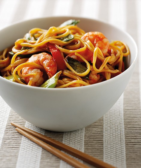 Prawn & Noodle Stirfry Recipe