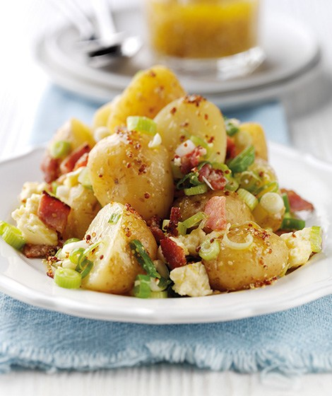 Warm Bacon, Mustard & Potato Salad Recipe