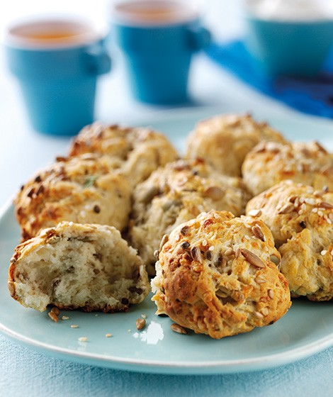 ear 'N' Share Seeded Cheese Scone Recipe